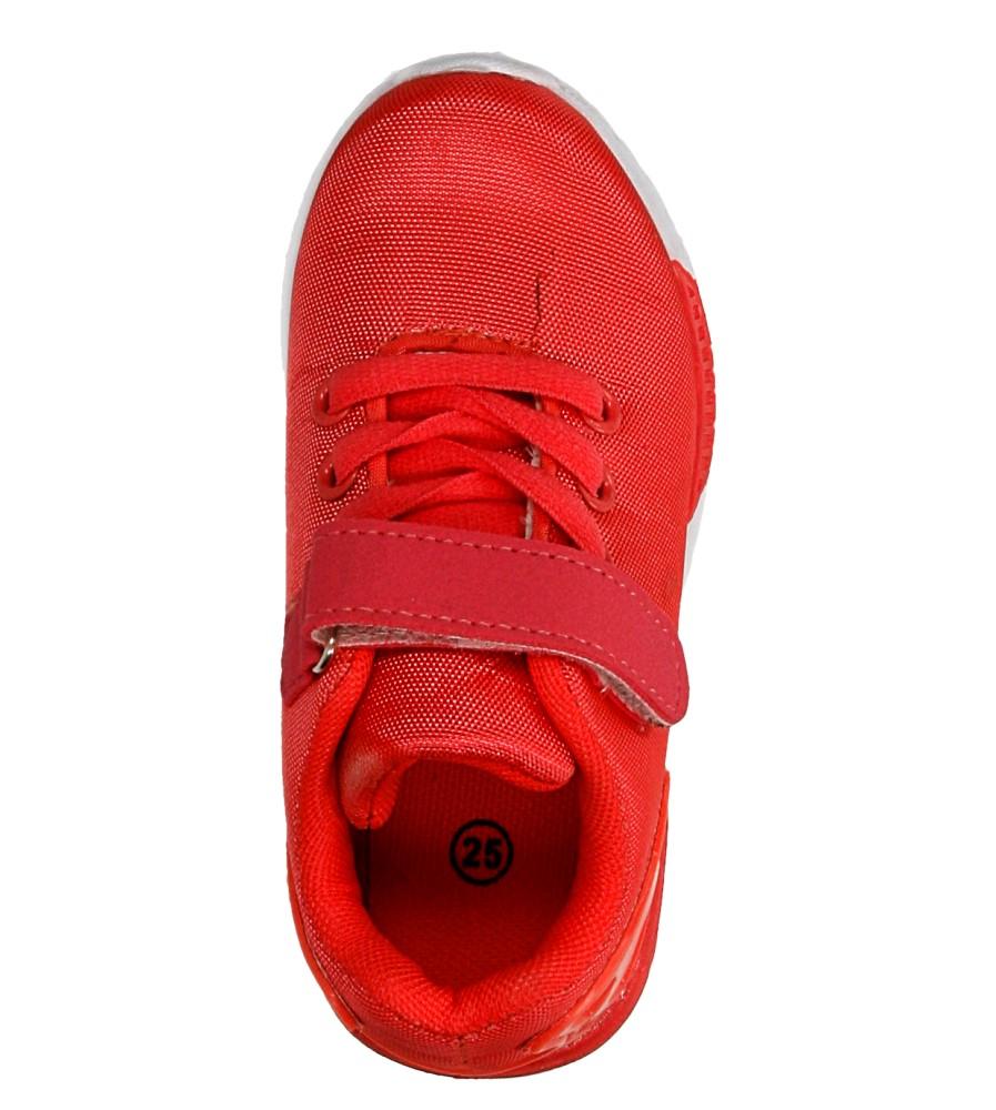 Dziecięce SPORTOWE AD-01 czerwony;biały;