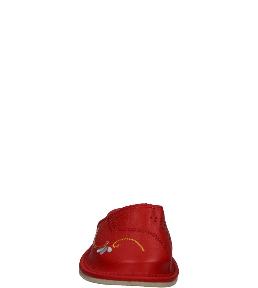 Damskie KAPCIE CASU D-22 czerwony;;