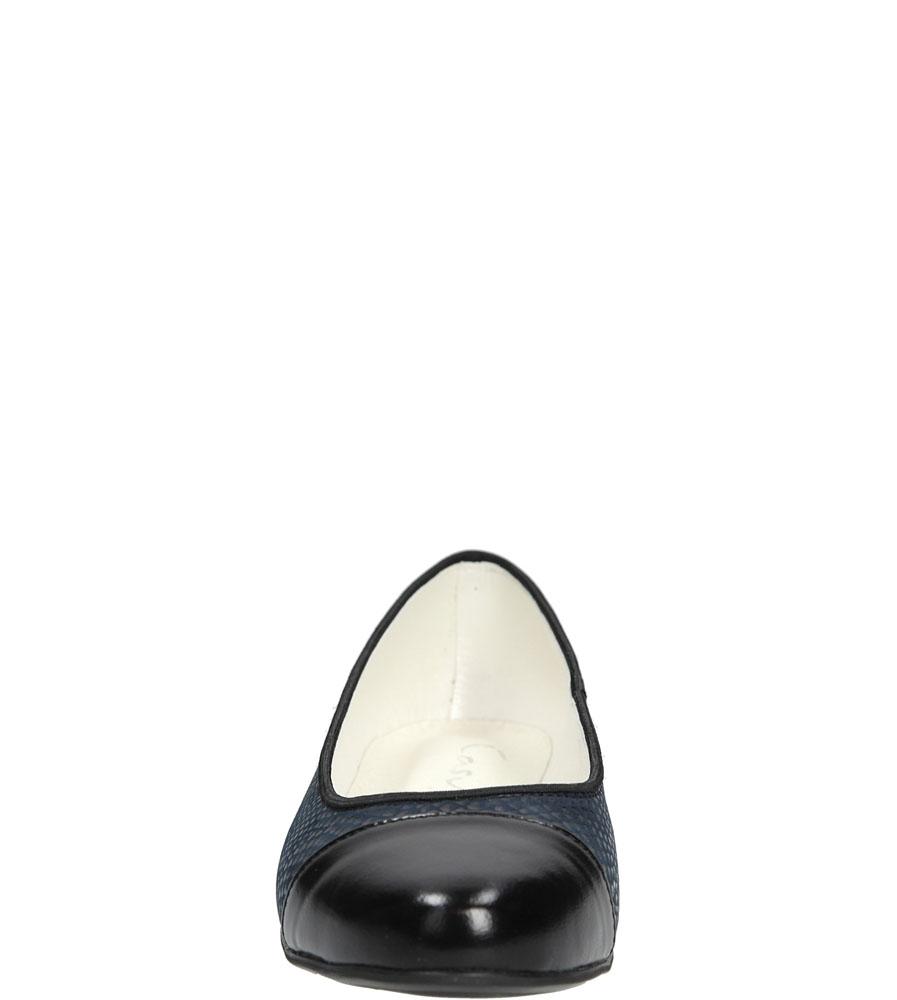 BALERINY CASU 234 kolor czarny, granatowy