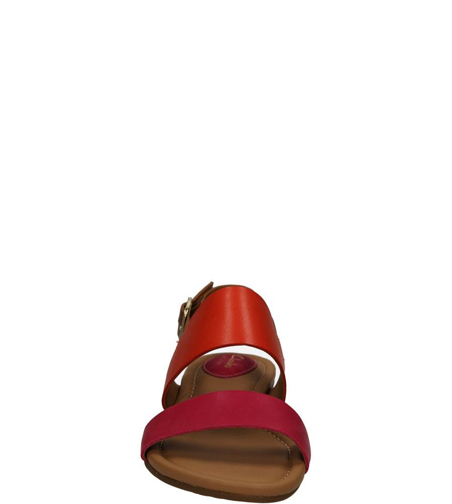 Damskie SANDAŁY CLARKS VIVECA AZTEK 26116464 różowy;pomarańczowy;brązowy