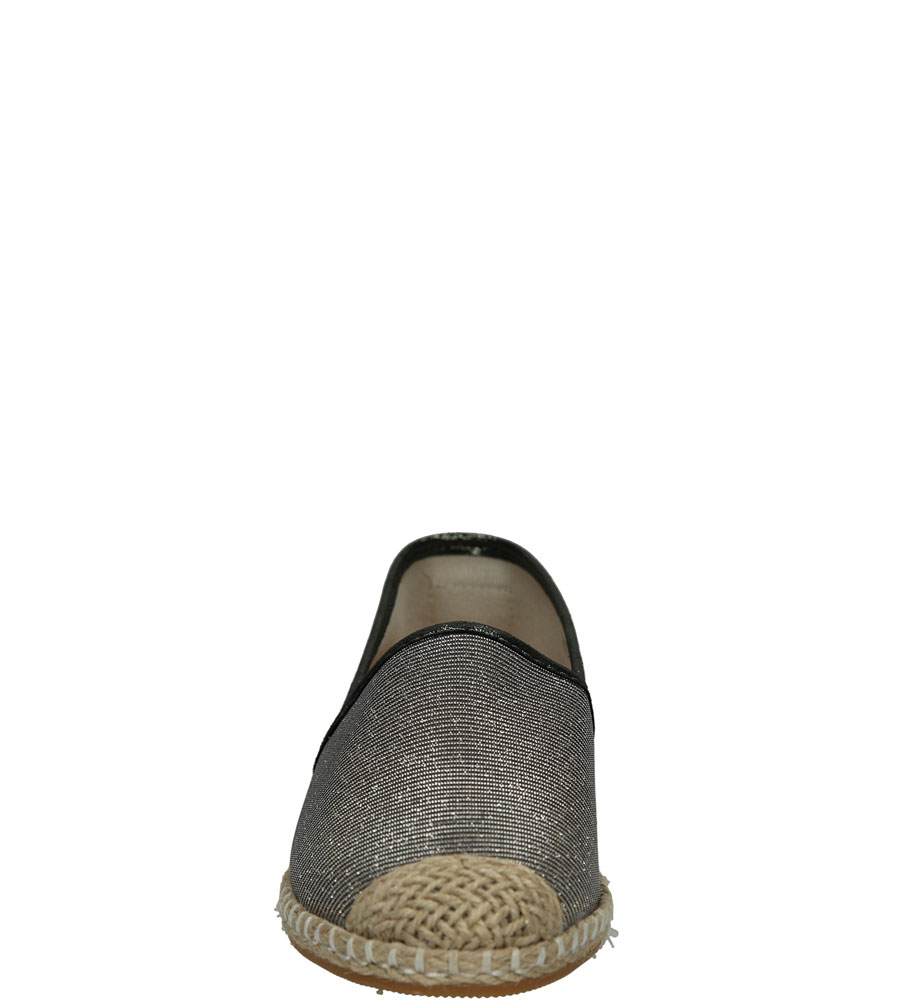 ESPADRYLE LU BOO 2870-1 kolor srebrny
