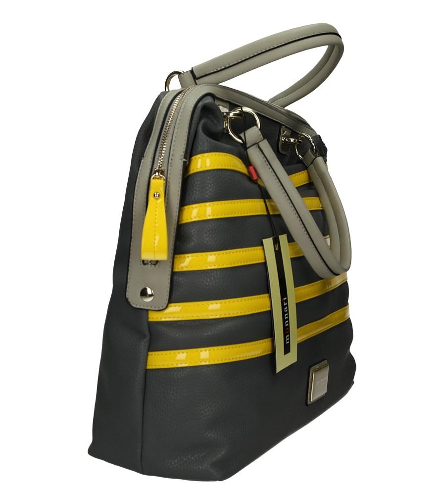 TOREBKA MONNARI BAG2340 kolor szary, żółty