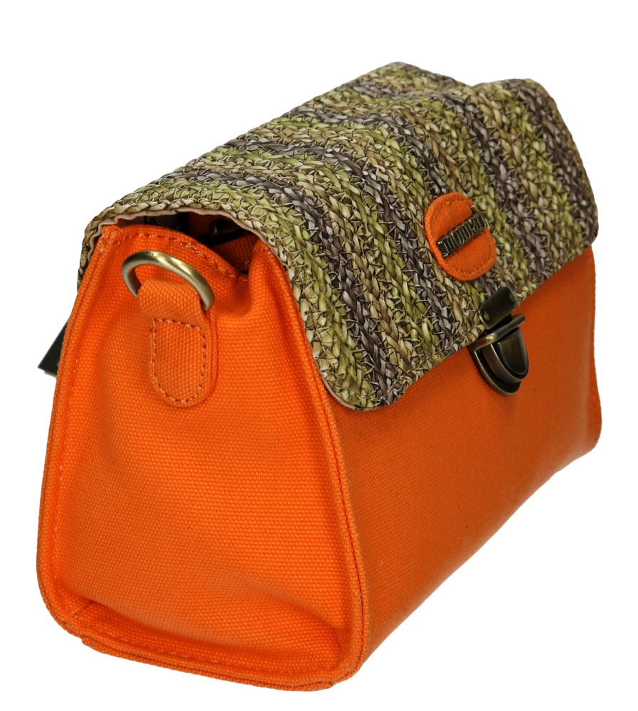 TOREBKA MONNARI BAG2090 kolor pomarańczowy
