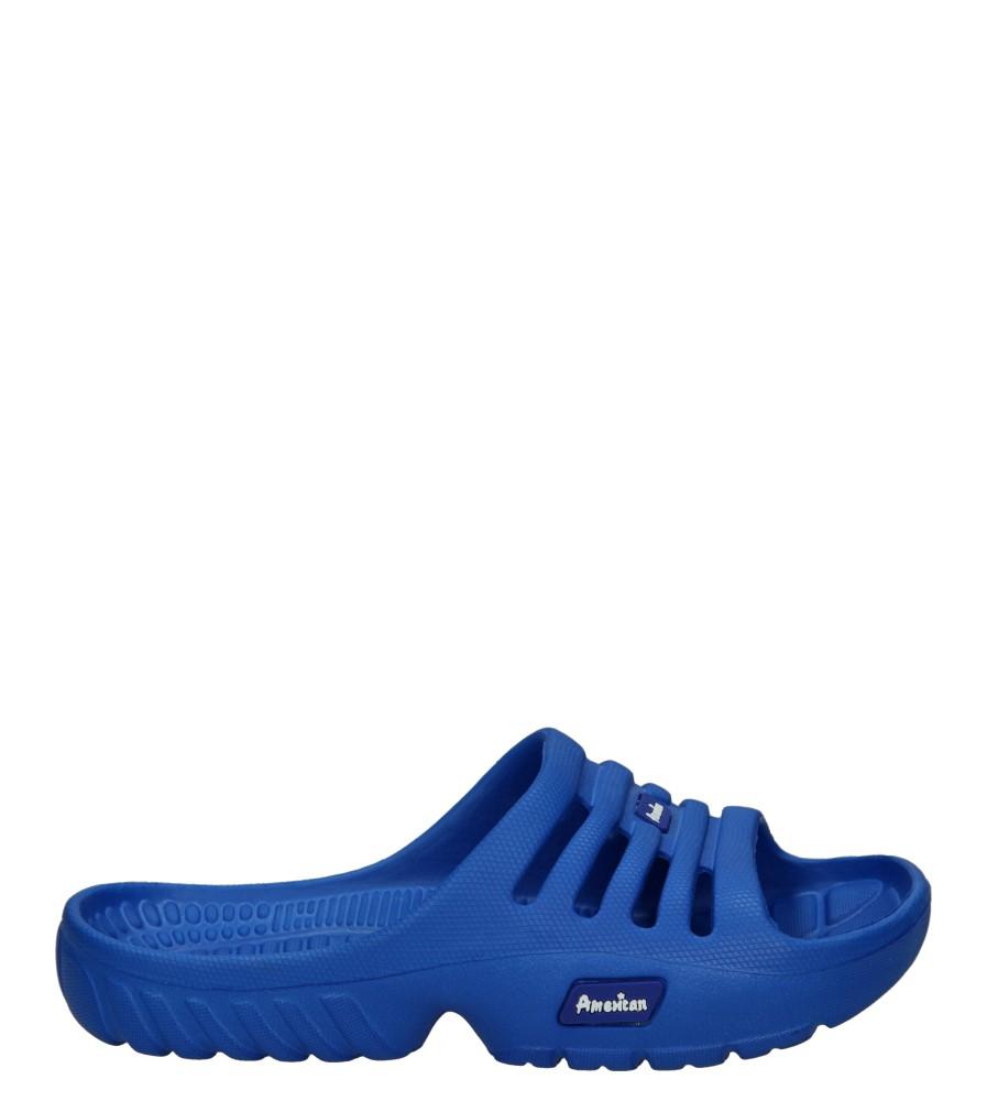 Dziecięce KLAPKI AMERICAN A038-150527-1C niebieski;;
