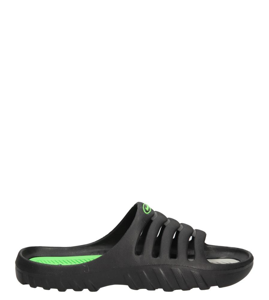 Męskie KLAPKI AMERICAN A083-140627-1 czarny;zielony;szary