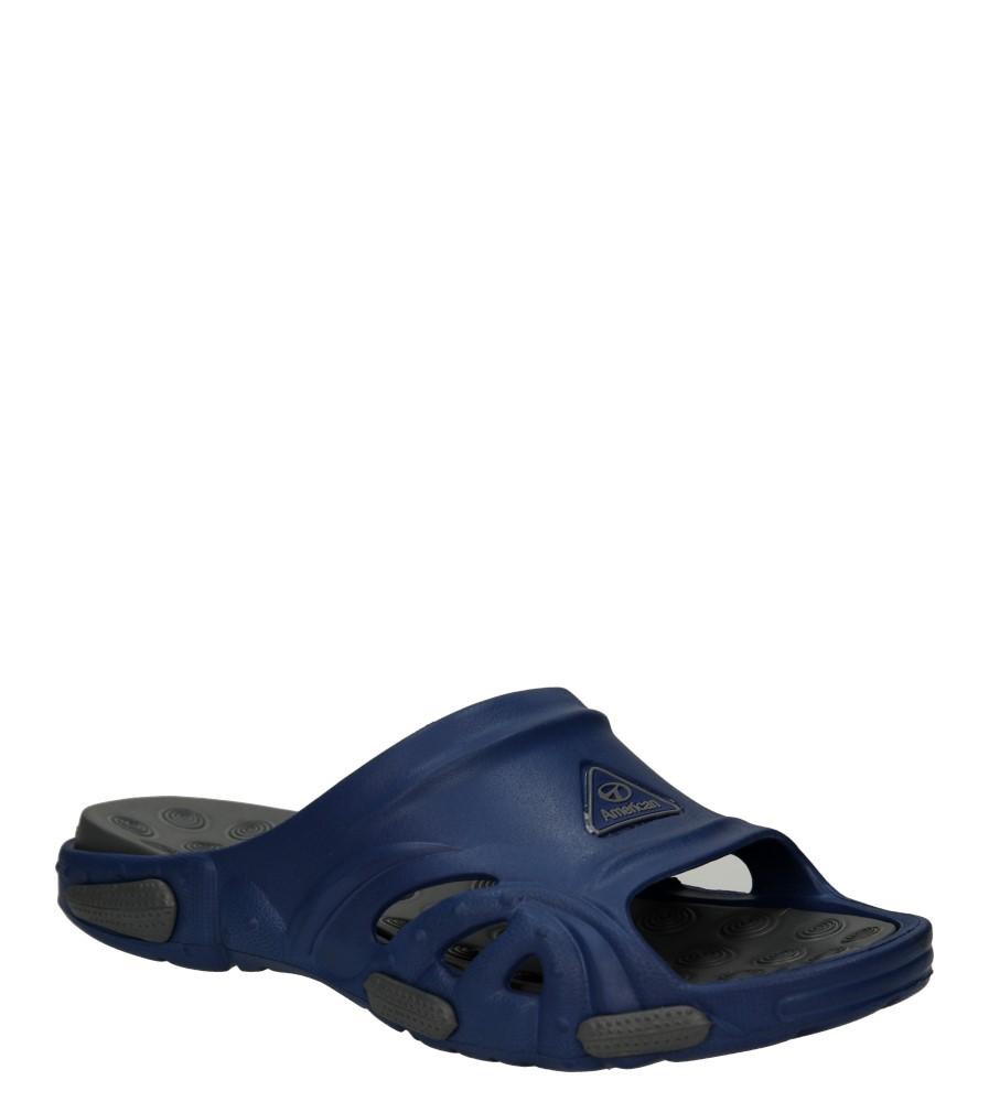 Męskie KLAPKI AMERICAN LC-A033003-1 niebieski;szary;