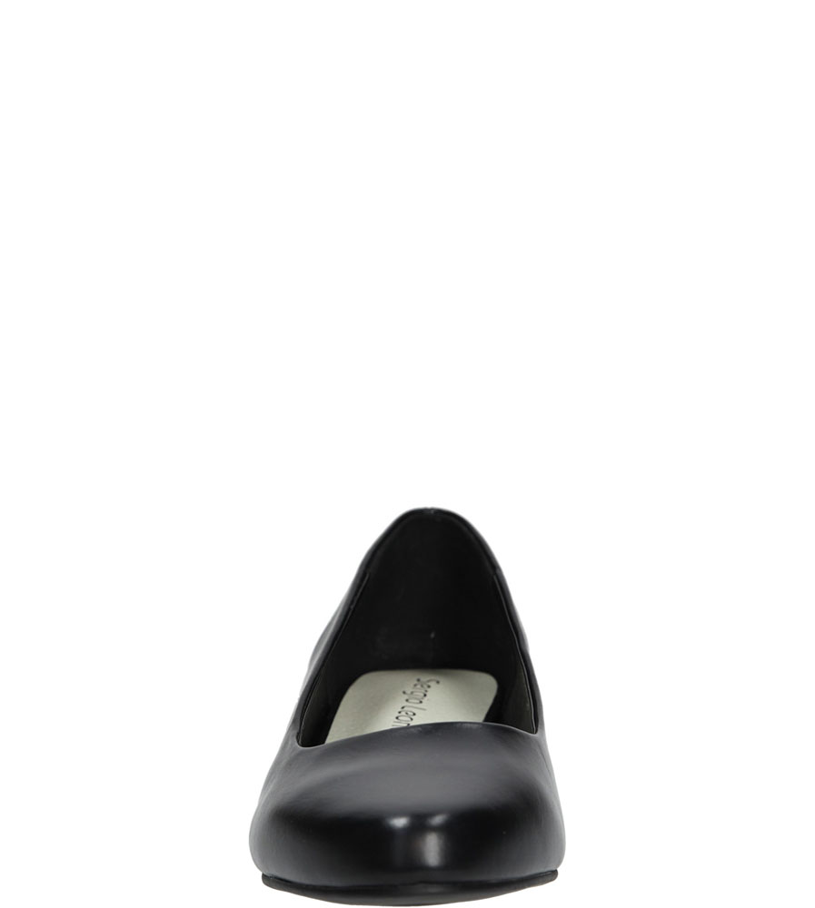 BALERINY SERGIO LEONE 6016 kolor czarny