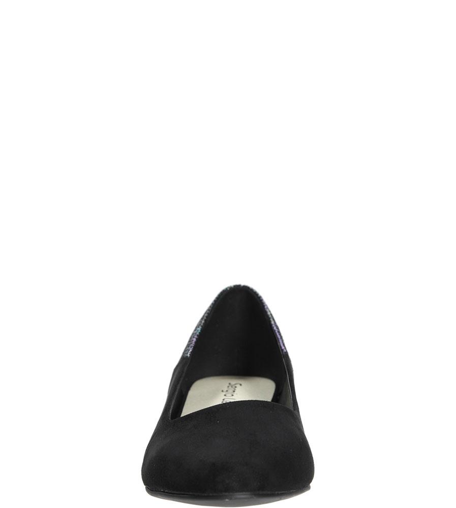 BALERINY SERGIO LEONE 6013 kolor czarny
