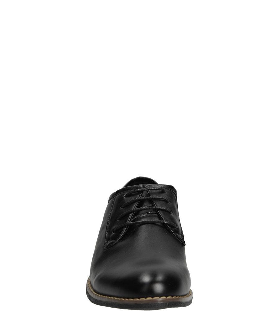 Męskie WIZYTOWE CASU C13006 czarny;;