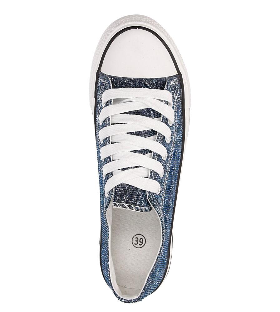 Damskie TRAMPKI CASU H-105 niebieski;;
