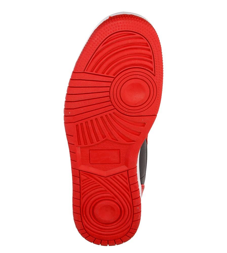 Męskie SPORTOWE CASU 809 czerwony;czarny;