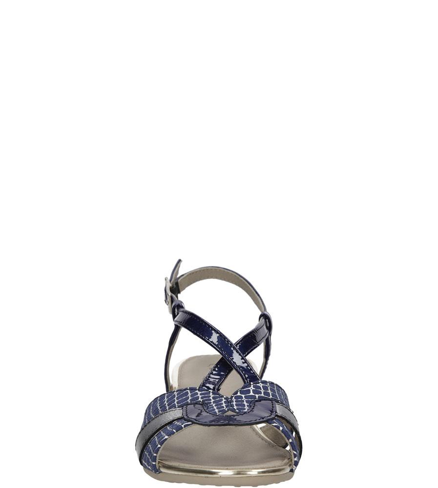 Damskie SANDAŁY PITILLOS 3312 niebieski;srebrny;