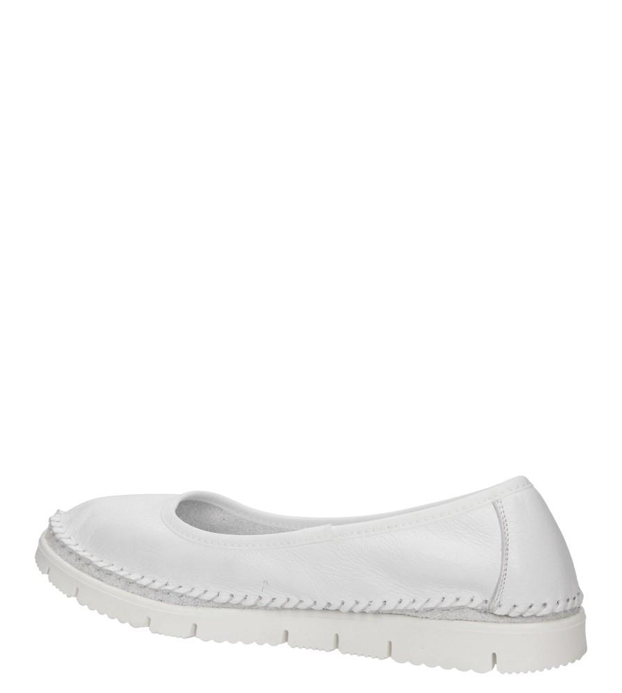 Damskie BALERINY MACIEJKA 02449 biały;;