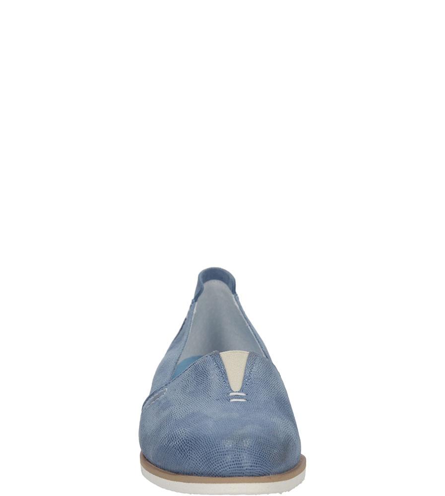 Damskie PÓŁBUTY NESSI 78006 niebieski;;