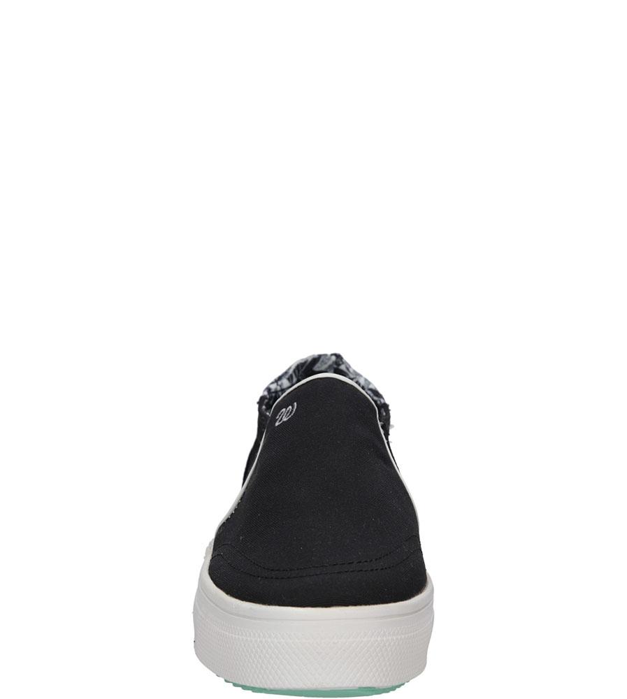 Damskie CREEPERSY WRANGLER SHEENA SLIP ON WL161556 czarny;;