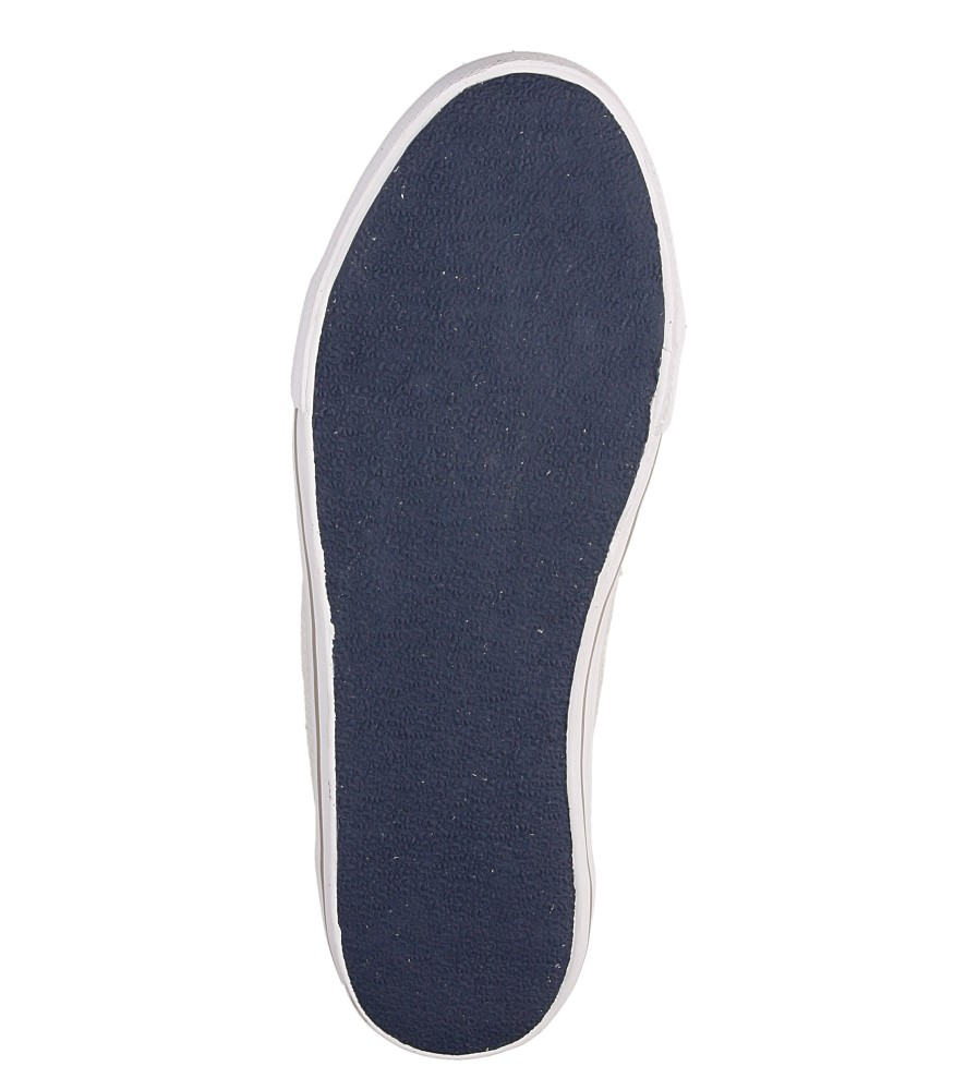 Męskie TRAMPKI PEPE JEANS PMS30089 niebieski;biały;