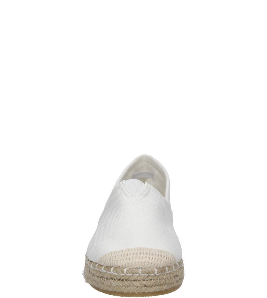Damskie ESPADRYLE BIG STAR U27416 biały;;