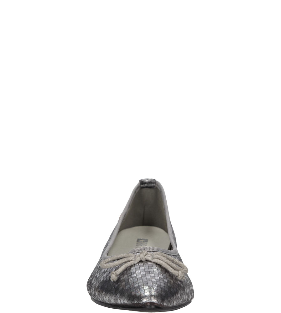 BALERINY BIG STAR U27457 kolor srebrny