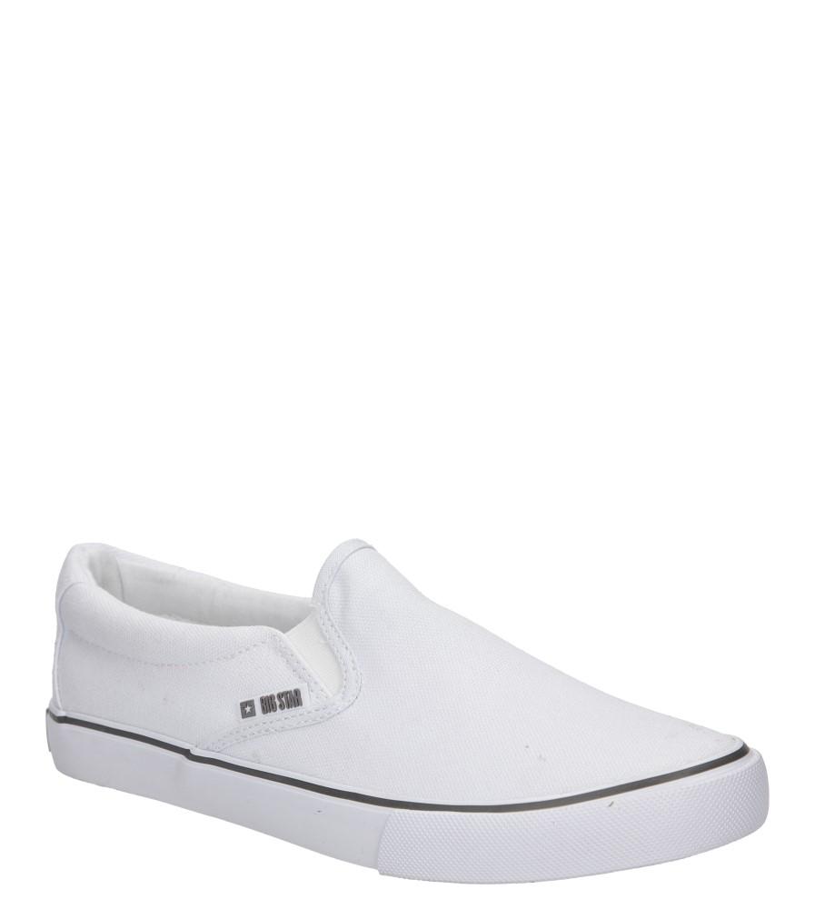 Damskie SLIP ON BIG STAR U27486 biały;;