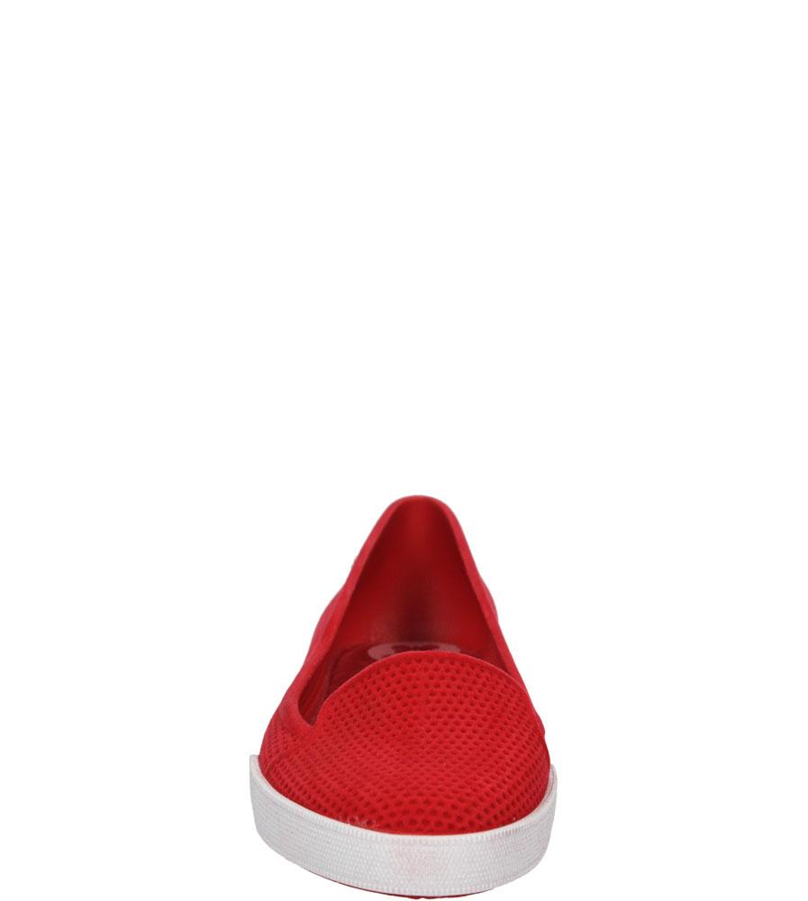 Damskie MELISKI ZAXY 81781 CITY FLOCK czerwony;;