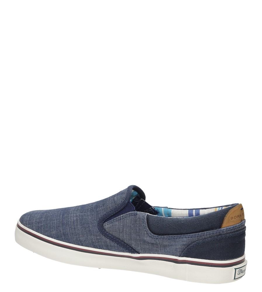 SLIP ON WRANGLER LEGEND SLIP ON WM161011 kolor niebieski
