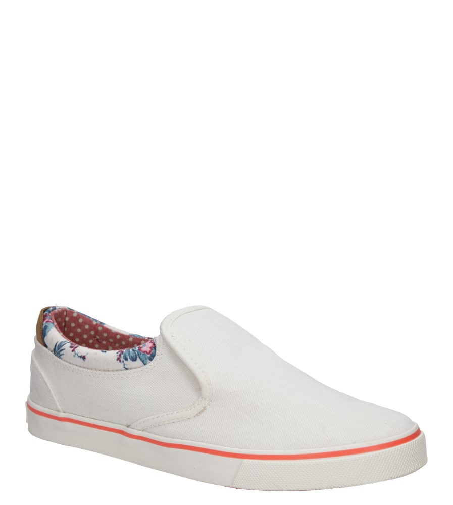 SLIP ON WRANGLER ICON SLIP ON CANVAS WL161513 biały