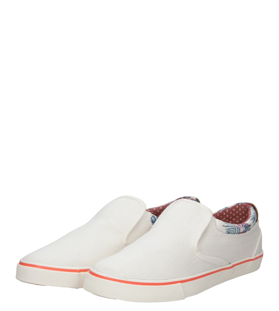 Damskie SLIP ON WRANGLER ICON SLIP ON CANVAS WL161513 biały;;