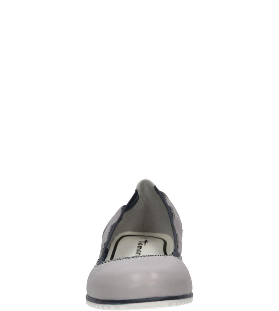 BALERINY TAMARIS 1-22104-26 kolor jasny szary