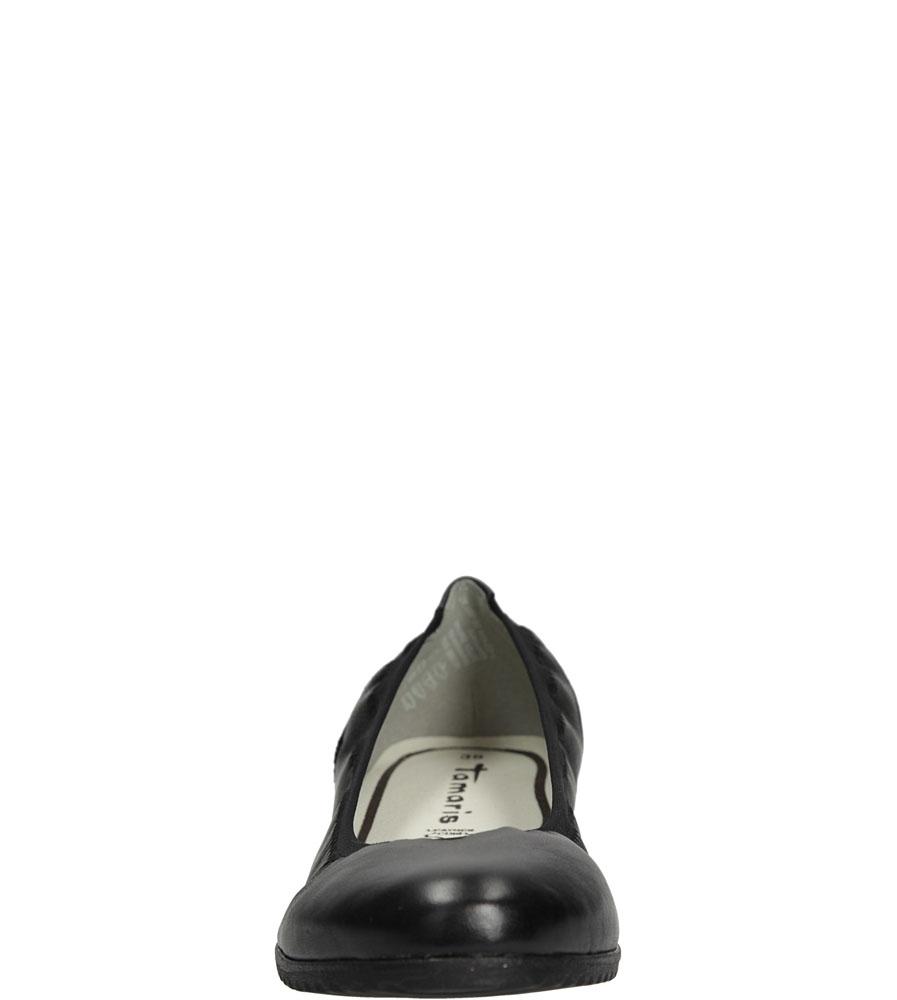 BALERINY TAMARIS 1-22104-26 kolor czarny