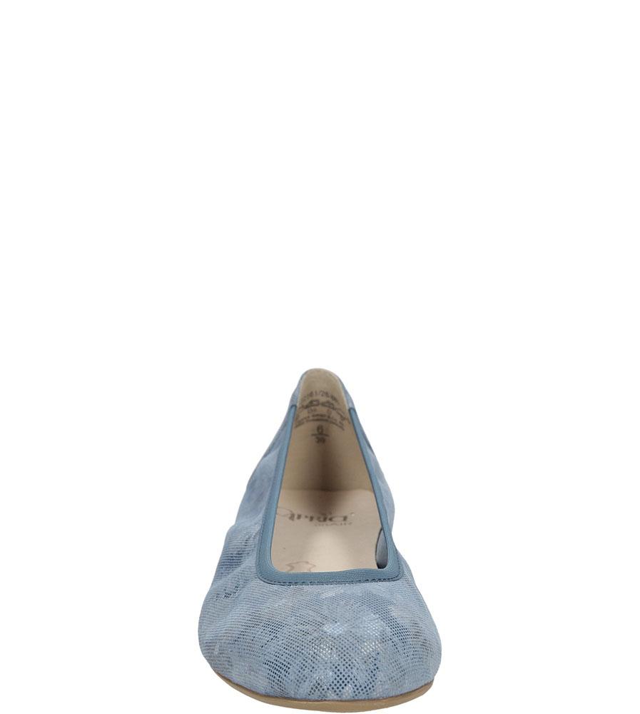 Damskie BALERINY CAPRICE 9-22161-26 niebieski;;