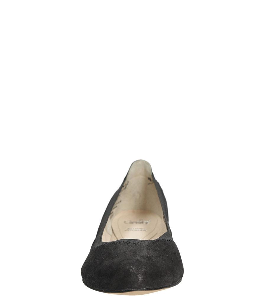 Damskie BALERINY CAPRICE 9-22108-26 czarny;;