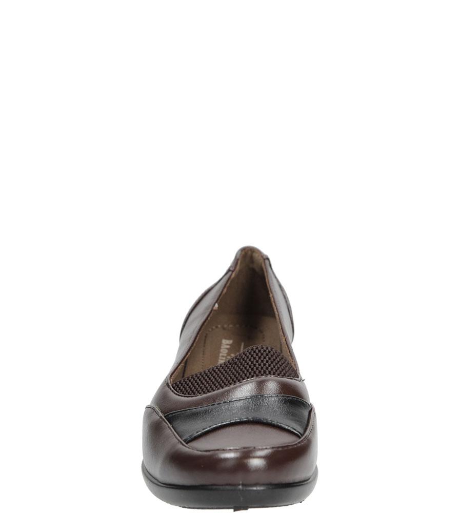 Damskie PÓŁBUTY CASU E680A brązowy;;