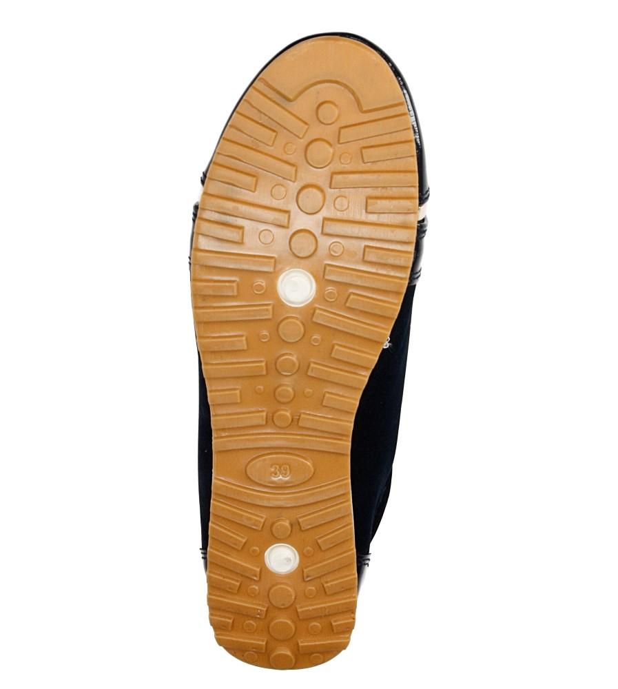 PÓŁBUTY CASU BKA-75 wierzch materiał/skóra/skóra ekologiczna