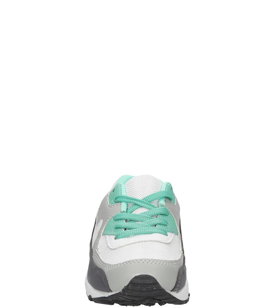 Dziecięce SPORTOWE 43367-3C biały;zielony;