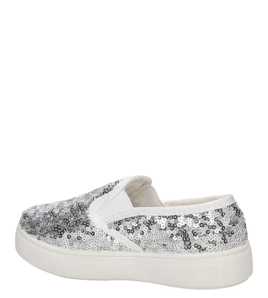 SLIP ON K-26-1 kolor srebrny