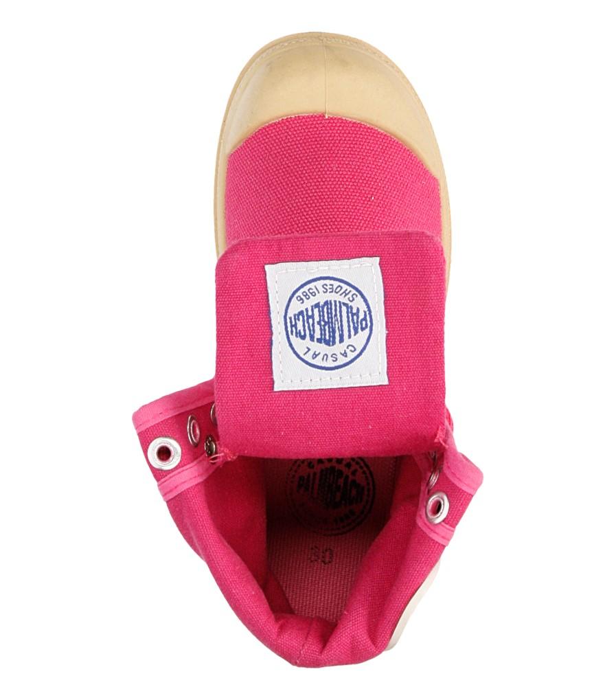 Dziecięce TRAMPKI 415-3B różowy;;