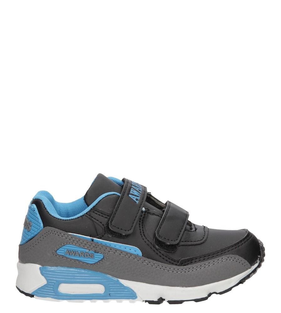 Dziecięce SPORTOWE C4005-1 czarny;niebieski;