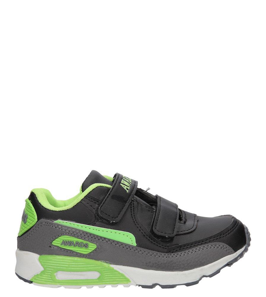 Dziecięce SPORTOWE C4005-1 czarny;zielony;