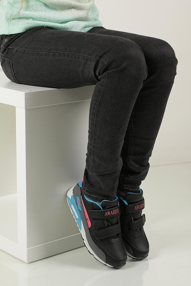 Dziecięce SPORTOWE C4005-2 czarny;niebieski;