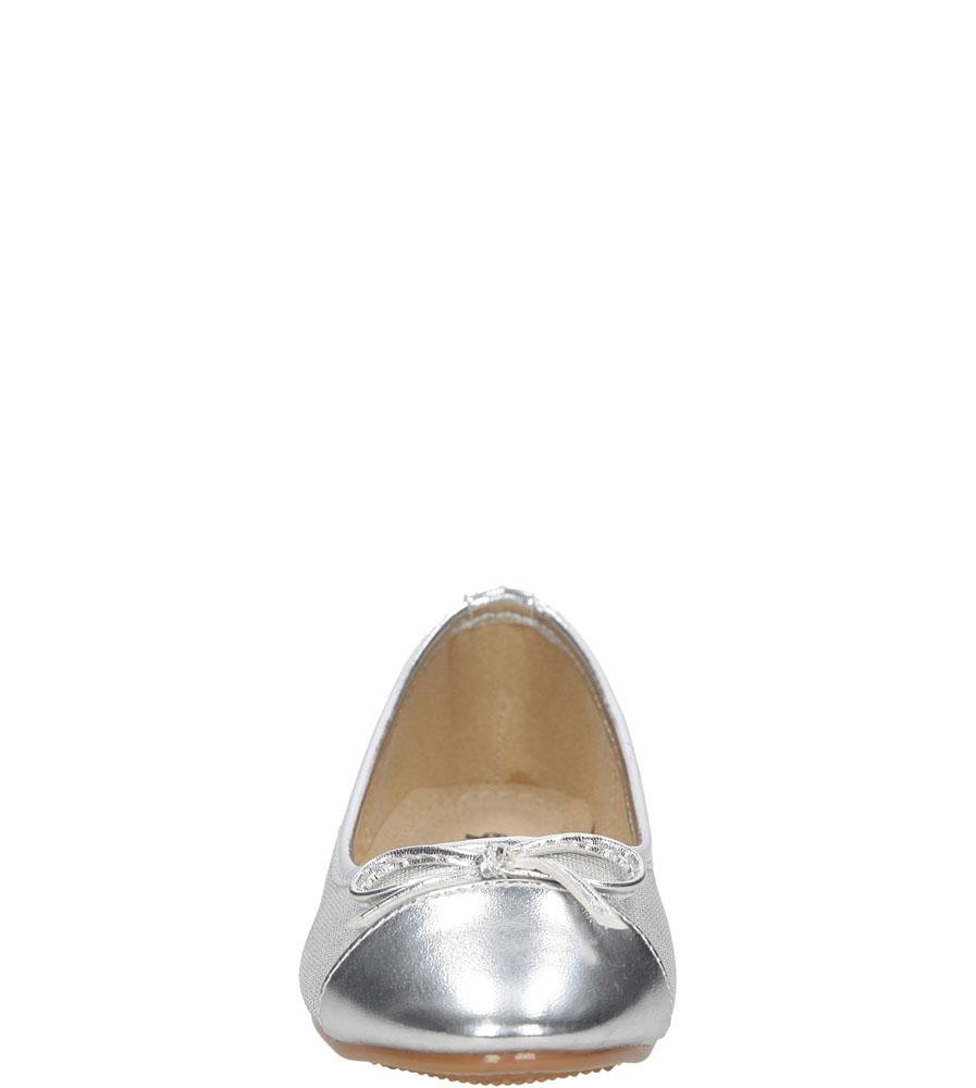 Dziecięce BALERINY MS-79 srebrny;;