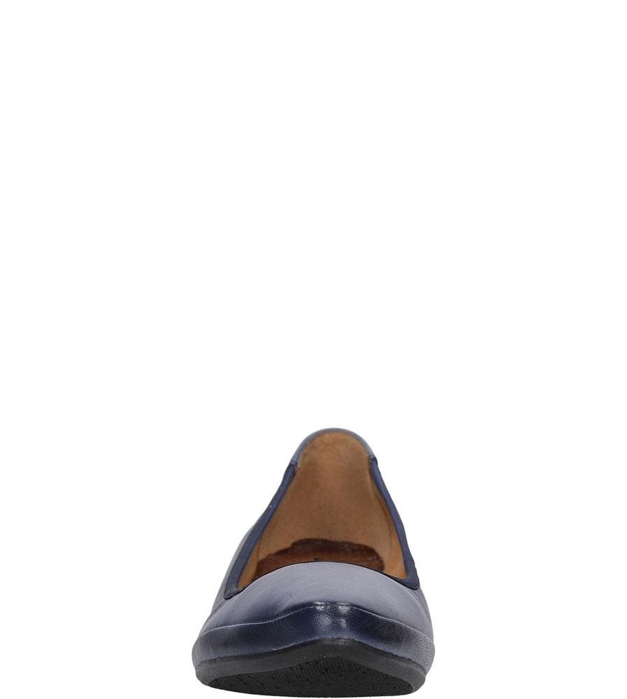 BALERINY MACIEJKA 02432 kolor granatowy