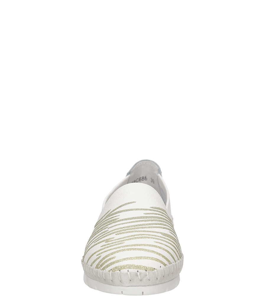 PÓŁBUTY LANQIER 38C68 kolor biały