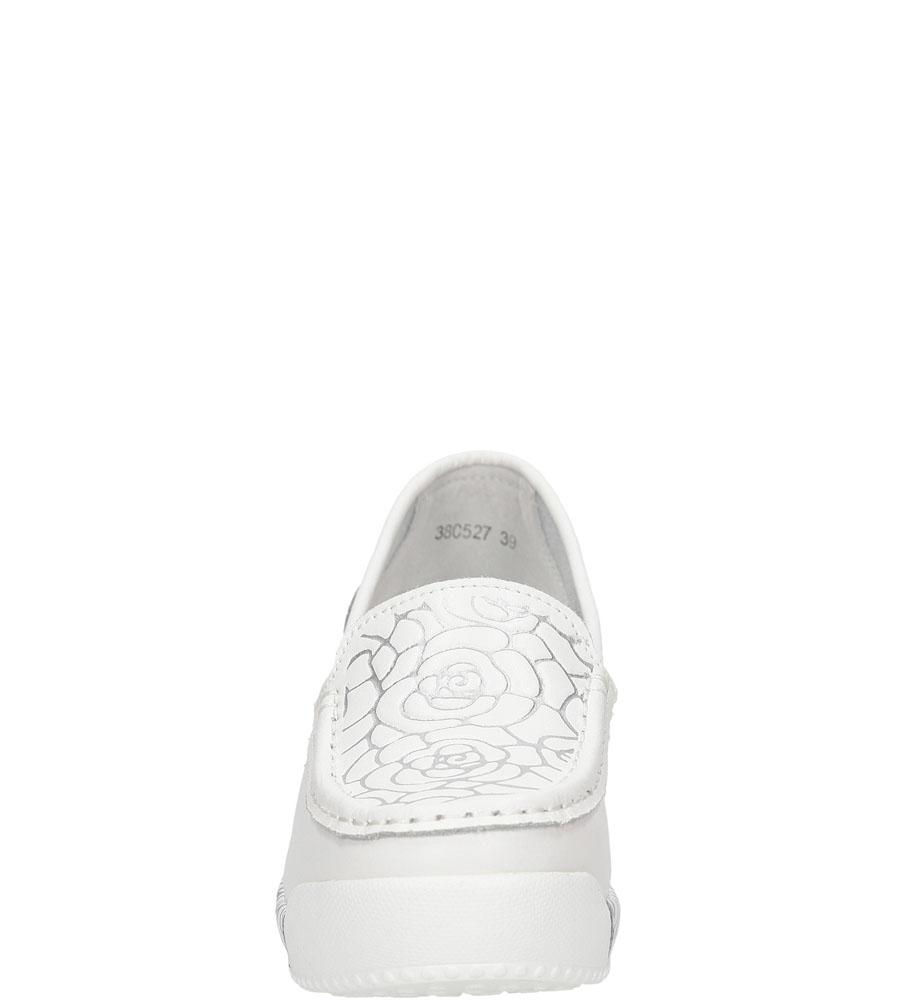 MOKASYNY LANQIER 38C52 kolor biały