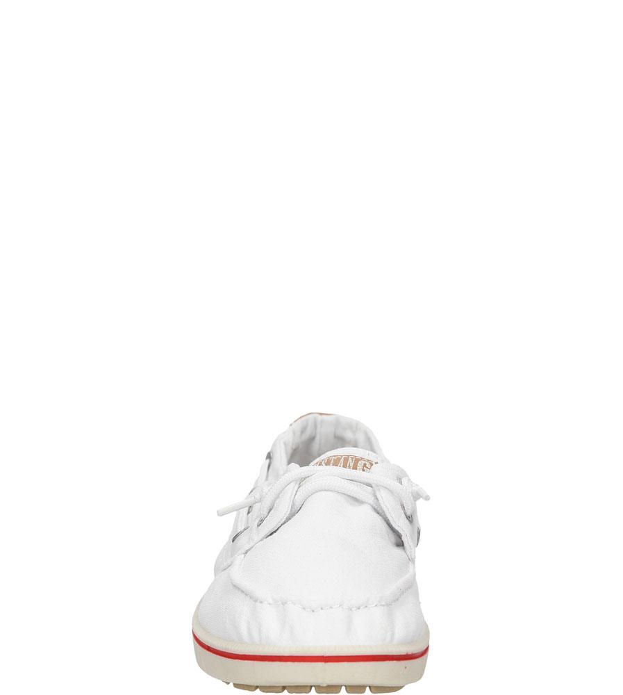 TRAMPKI MUSTANG 38C009 kolor biały