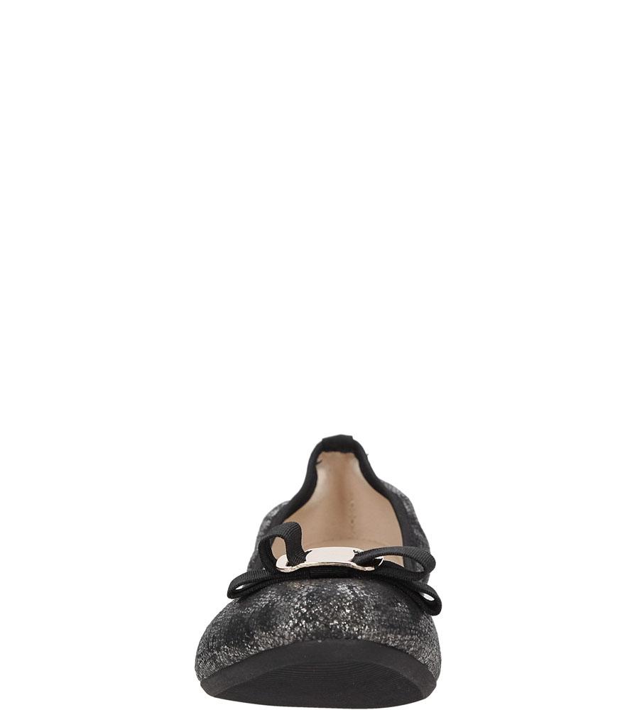 BALERINY CASU 1226 kolor czarny