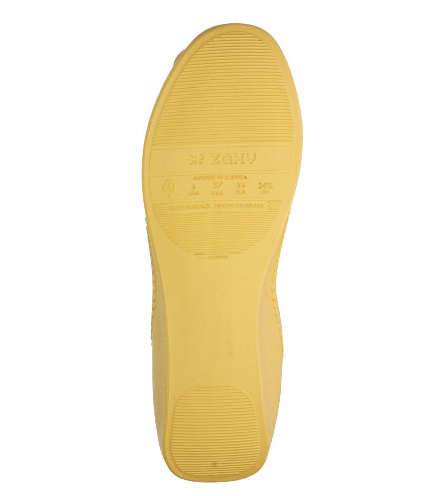 Damskie MELISKI ZAXY 81606 START FEM żółty;;