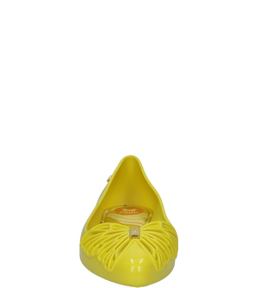 Damskie MELISKI ZAXY 81879 FREE SAP AD żółty;;