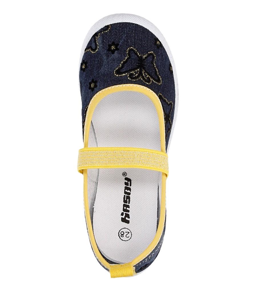 Dziecięce TRAMPKI HASBY T1901C niebieski;żółty;