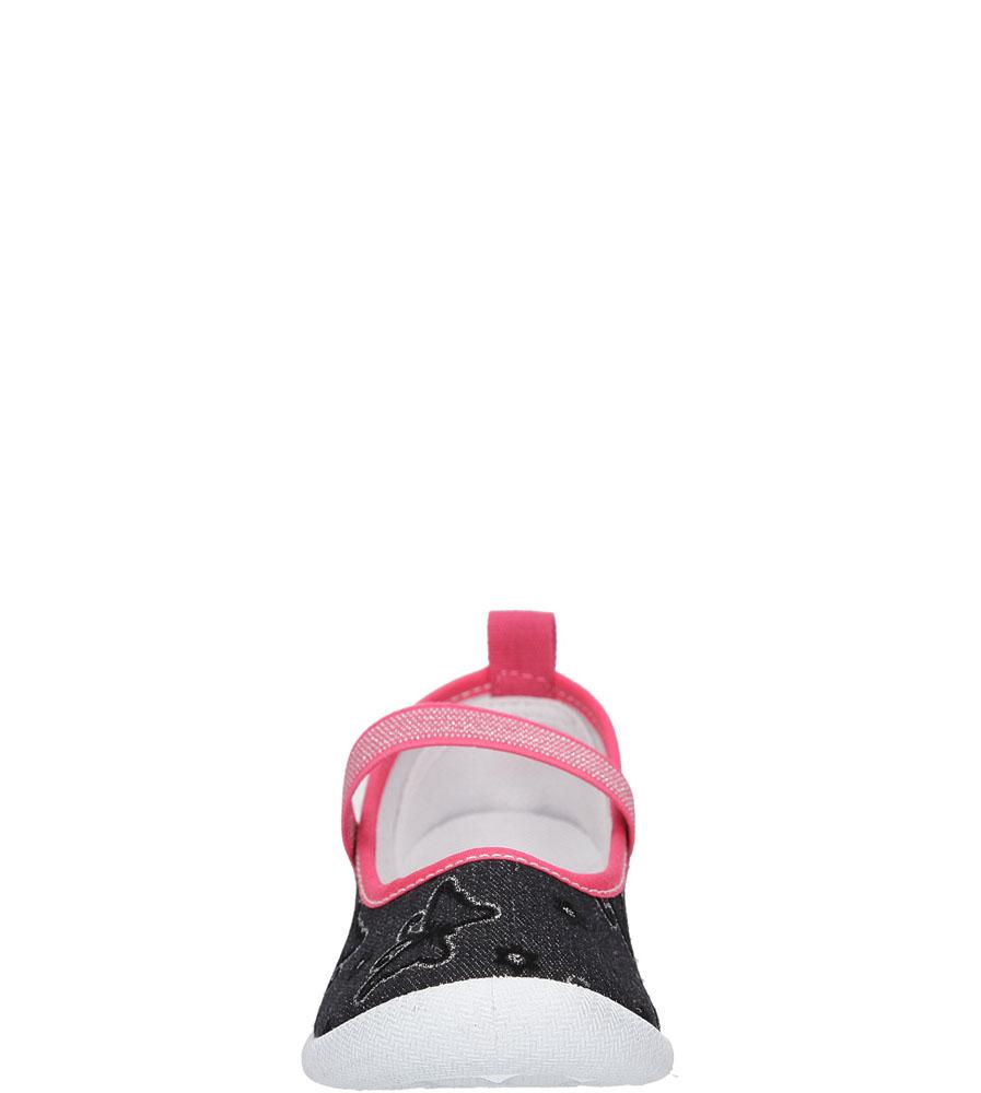 TRAMPKI HASBY T1901C kolor czarny, różowy