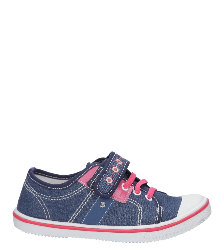 Dziecięce TRAMPKI HASBY T1948A niebieski;różowy;